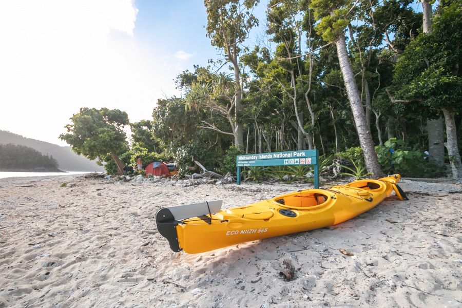 kayak, whitsunday islands