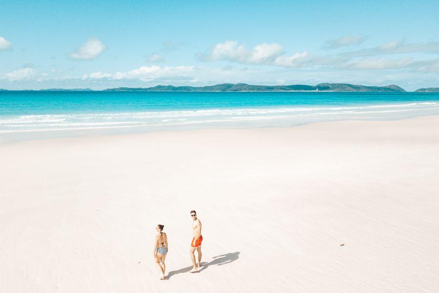 Whitehaven Beach Finest Silica Sand