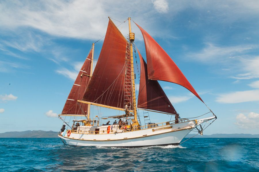 Sail on a Tall ship, like a pirate