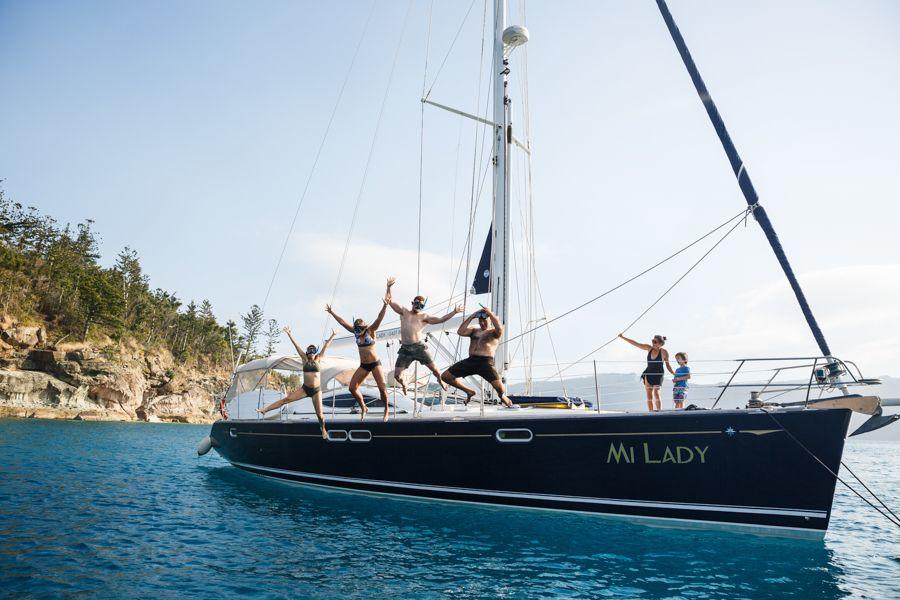 Mi Lady Family Sailing Whitsundays