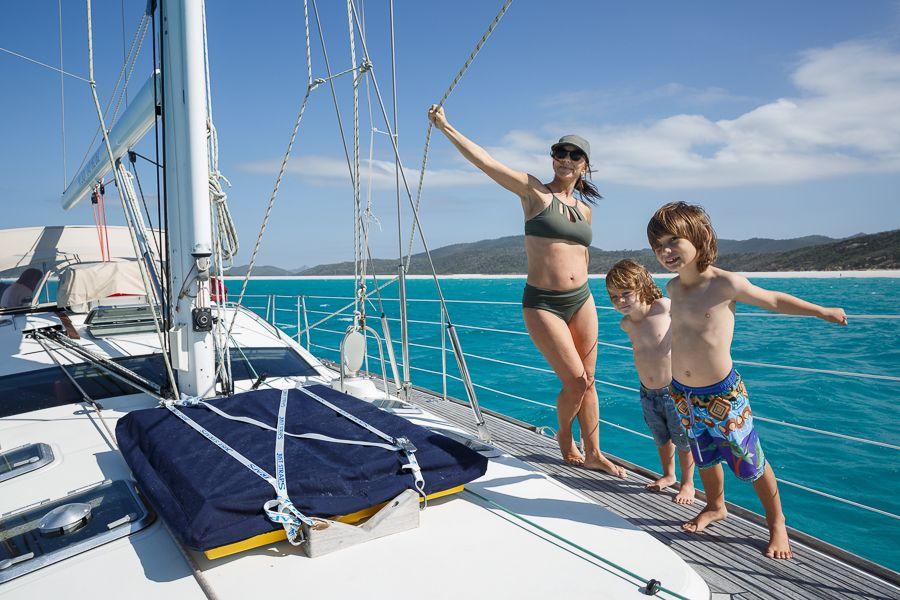 Sailing the Whitsundays Family