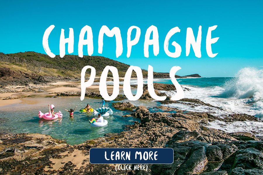 Champagne Pools at Low Tide