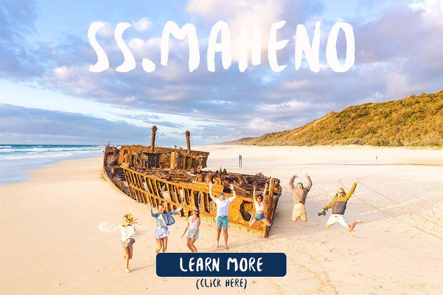 S.S Maheno Fraser Island