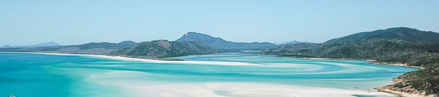 Whitehaven Beach Siska From above