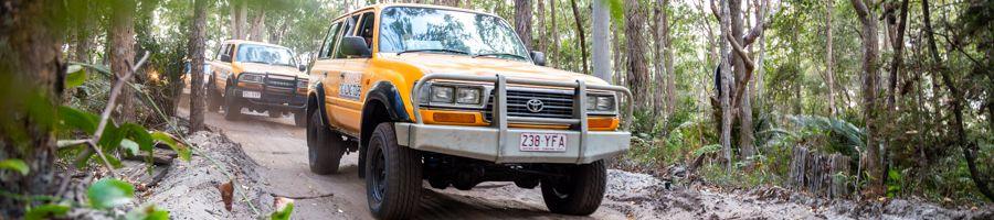 Nomads tag along tours, Fraser Island