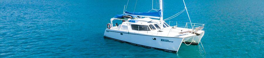 Whitsunday Adventurer sailing the Whitsunday Islands