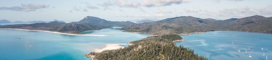 Whitsunday Island, Whitehaven Beach, Hill Inlet Lookout, Great Barrier Reef