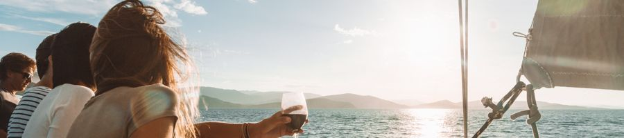 Whitsunday Blue catamaran Sunset Drinks
