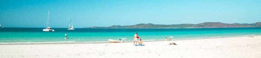 Whithaven Beach On Ice Whitsunday Catamaran Private Charter