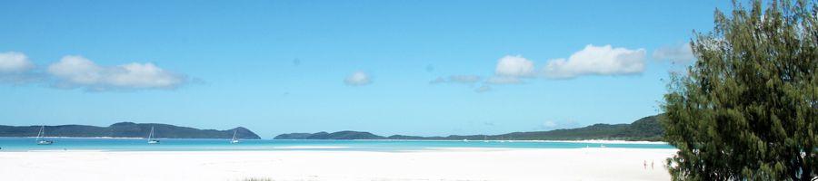 Whitehaven Beach Whitsunday Island Silica Sands Blue