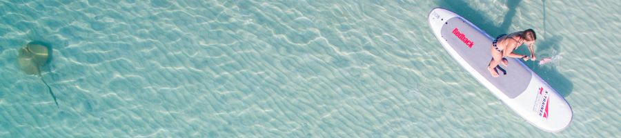 Stand-up paddleboard Whitsundays Blue