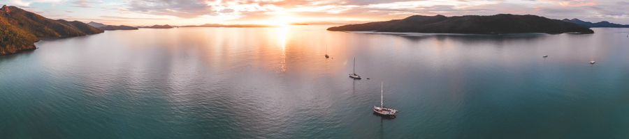 whitsundays, sunset