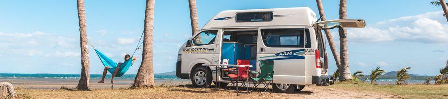 Campervan, east coast tour