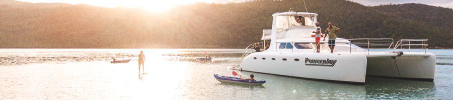 Powerplay, Sailing Whitsundays