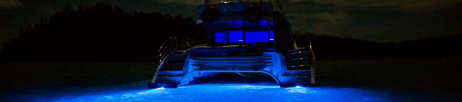 Underwater Blue Lights
