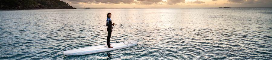 Stand up paddleboarding Whitsundays