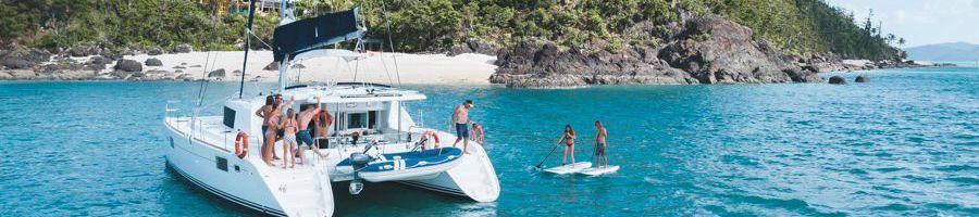Getaway Catamaran Whitsunday Island Luxury