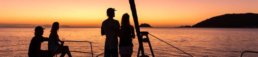 Getaway Sunset Sailing Whitsunday Islands