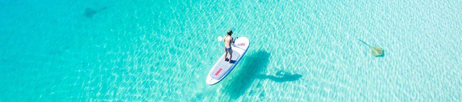 Stand-up paddleboard Whitsunday Getaway