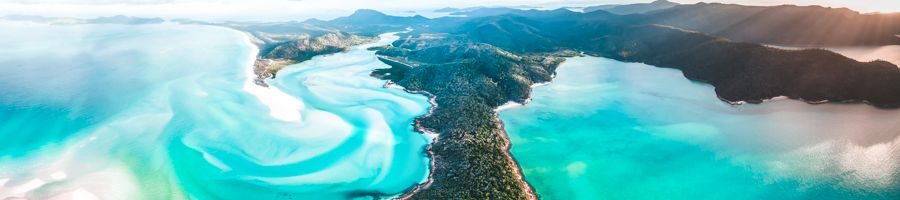 Whitsundays from way up