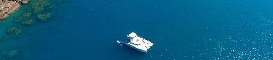 Powerplay  Whitsunday Islands luxury catamaran