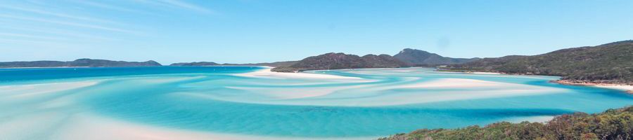 Hill INlet Lookout Whitsunday Island Buskwalking Swirling Sands
