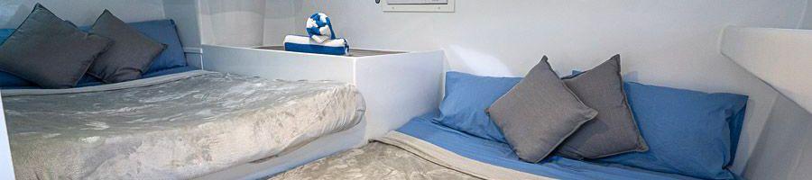 Powerplay luxury private cabin sleeps 3