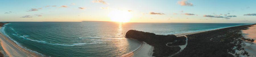 Indian Head Sunrise Fraser Island