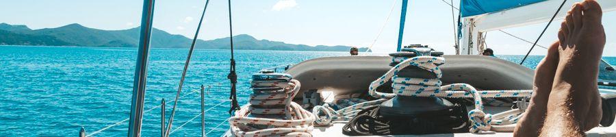 Sailing Blue Whitsundays