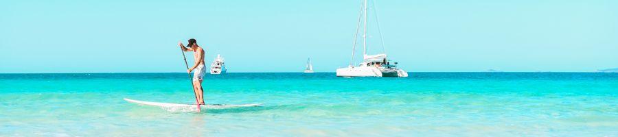 Blue SUP Whitsundays