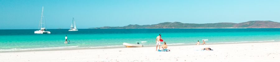 Whitehaven Beach stand up paddle board gift
