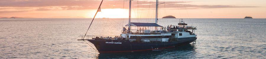 atlantic clipper, sunset