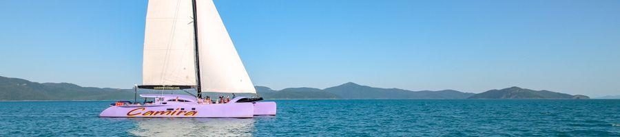 Camira; Sailing Whitsundays