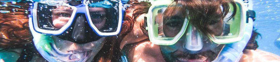 snorkelling ocean rafting