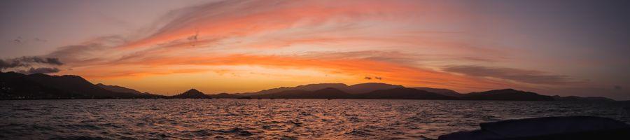 sunset airlie beach