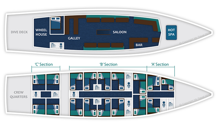 Atlantic Clipper Floor Plan